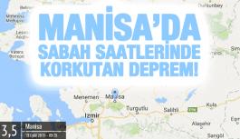 AKHİSAR'DA 3,5 ŞİDDETİNDE DEPREM!