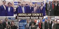 ABDULLAH TEKİN'E TEMAYÜLDE YOĞUN İLGİ