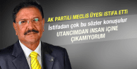 AK PARTİ'DE ŞOK İSTİFA
