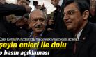 CHP'Lİ ÖZEL'DEN KILIÇDAROĞLU'NA DESTEK