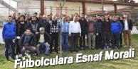 FUTBOLCULARA ESNAF MORALİ