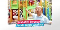Mahalle sakinlerinin çocuk parkında fuhuş tepkisi