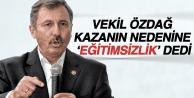 MANİSALI VEKİL ÖZDAĞ'AN KAZA AÇIKLAMASI!