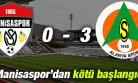 Manisaspor 0 - 3 Albimo Alanyaspor