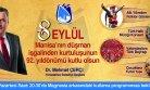 Mehmet Çerçi 8 Eylül Mesajı