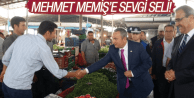 MEHMET MEMİŞ'E SEVGİ SELİ