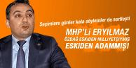 MHP'Lİ HASAN ERYILMAZ 'DAN SELÇUK ÖZDAĞ ÇOK SERT ELEŞTİRİ