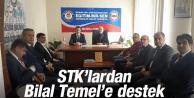 STK'LARDAN BİLAL TEMEL'E DESTEK