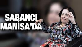 DİLEK SABANCI MANİSA OSB'Yİ ZİYARET ETTİ