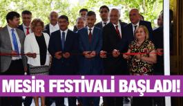 476. MANİSA MESİR MACUNU FESTİVALİ START ALDI