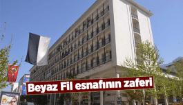 BEYAZ FİL ESNAFININ ZAFERİ