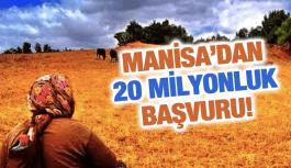 MANİSA'DAN TKDK'YA 20 MİLYONLUK BAŞVURU