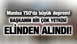 MANİSA TSO'DA DEPREM!