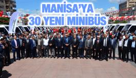 MANİSA'YA 30 YENİ OTOBÜS