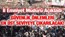 MESİR FESTİVALİ'NDE GÜVENLİK EN ÜST SEVİYEDE!