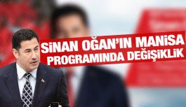 SİNAN OĞAN MANİSA'YA GELİYOR