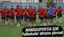Manisasporlu Futbolcular İdmana Çıkmadı
