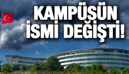 CBÜ MURADİYE KAMPÜSÜ'NÜN İSMİ...