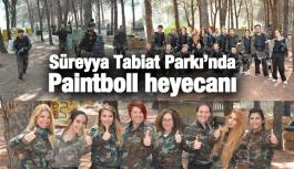 SÜREYYA TABİAT PARKI'NA PAİNTBOLL AÇILDI
