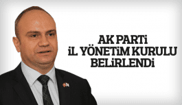 AK Parti Manisa İl Yönetim Kurulu belirlendi