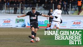Manisaspor Elazığ maçında puanlar paylaşıldı