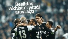 Beşiktaş Akhisar'ı yendi şampiyonluk yolunda arayı açtı