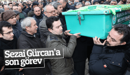 Sezai Gürcan'a son görev