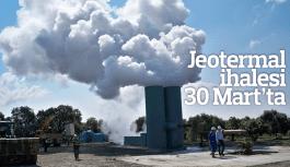 Manisa'da Jeotermal ihalesi 30 Mart'ta
