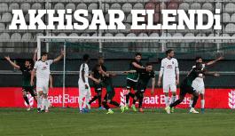 Akhisar Belediyespor kupadan elendi