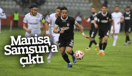 Manisaspor Samsun'u yendi 3 puanı aldı