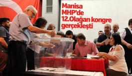 Manisa MHP'de 12. Olağan Kongre yapıldı