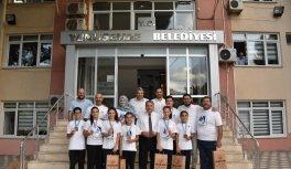 Başkan Çerçi başarılı judocuları kutladı