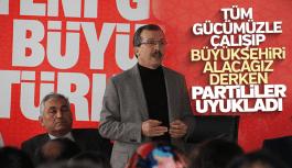 Uğur Aydemir AK Parti Manisa Büyükşehir'i alacak derken partililer uyukladı