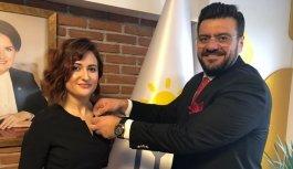 İYİ Parti Yunusemre İlçe Başkanı Filiz Tuğçe Ayrancı oldu