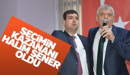 Pazarcılar Odası'nda kazanan Halim Şener oldu