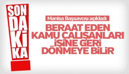 Manisa Başsavcısı Ahmet Çiçekli'den önemli açıklama