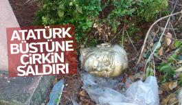Manisa'da Atatürk büstünü kırdılar