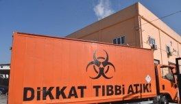 Başkan Yıldırım'dan Tıbbi Atık tesisinde...