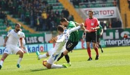 Spor Toto Süper Lig: Akhisarspor: 0 - MKE Ankaragücü: 0 (İlk yarı)