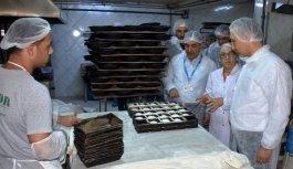 Manisa'da gıda üretimi ve satış yerlerine...