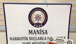 Manisa'da uyuşturucu operasyonu: 1 tutuklama