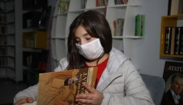 İstiklal Marşı okuma yarışmasında...