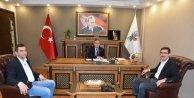 ABDULLAH TEKİN'DEN HASAN GERİTER'E ZİYARET