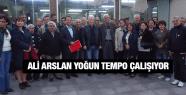 CHP YUNUS EMRE ADAY ADAYI ALİ ARSLAN YOĞUN TEMPO ÇALIŞIYOR