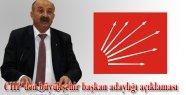 CHP'den büyüşehir adaylığı açıklaması
