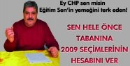 EĞİTİM SEN CHP'Yİ TOPA TUTTU