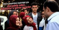 GENÇLERDEN MURAT BAYBATUR'A BÜYÜK DESTEK