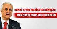 KORAY AYDIN:BEN ARTIK ARKA KOLTUKTAYIM!