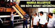 MANİSA BELEDİYESİ 900 KÖYE HİZMET GÖTÜRÜYOR
