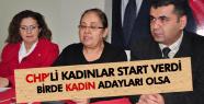 Manisa CHP'li kadınlar yerel seçimler için yollara düşecek